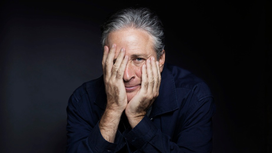 In this Nov. 7, 2014 photo, Jon Stewart poses for a portrait in promotion of his film,